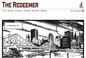 WahlDev Portfolio - H2O Comics/The Redeemer